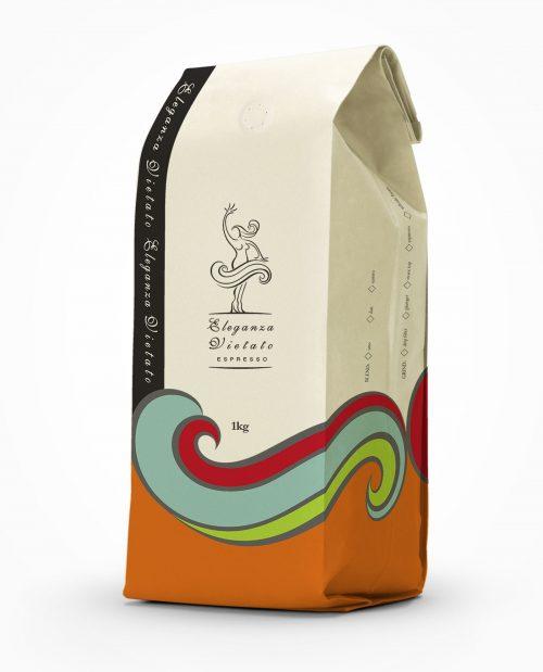 eleganza vietato 1kg coffee beans