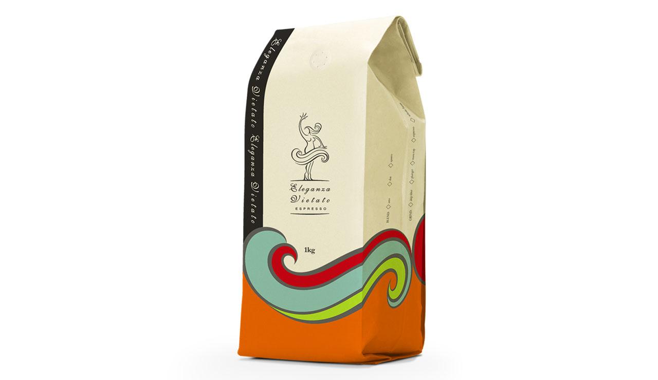 espresso coffee bag