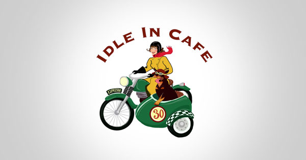 idle in cafe logo