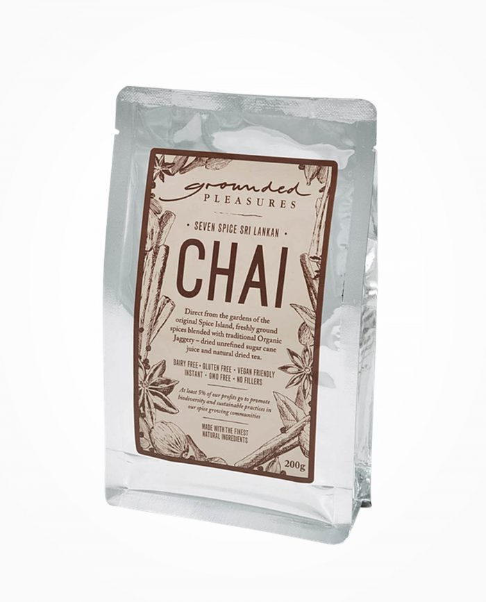 grounded pleasures seven spice shri lankan chai