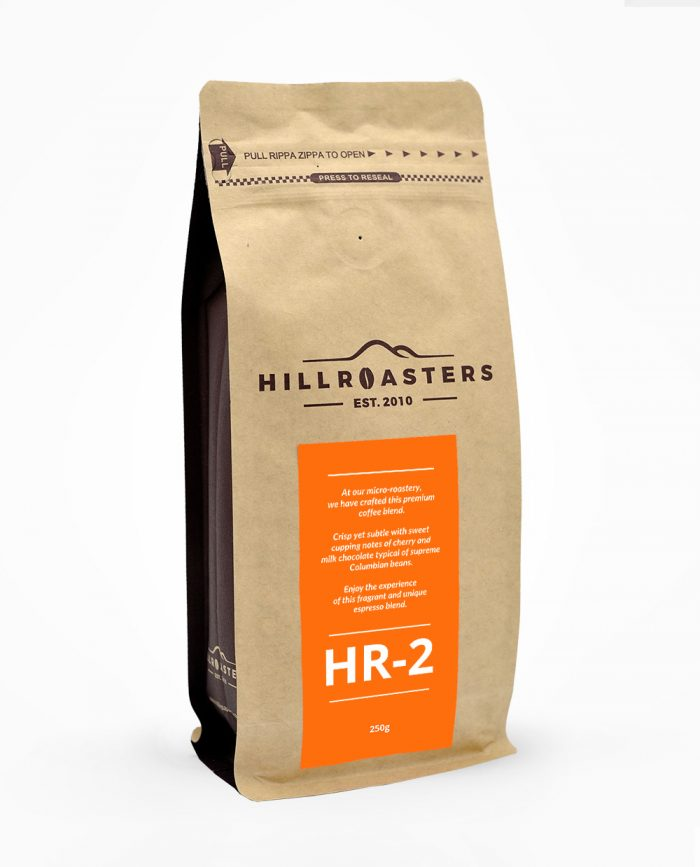 250g roasted coffee beans